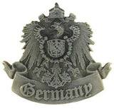 Half Liter Pilsner Glass with A Pewter Germany Badge - GermanGiftOutlet.com  - 3