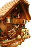 "River City Clocks One Day Musical 14"" German Cuckoo Clock with Men who Saw Wood - GermanGiftOutlet.com  - 3"