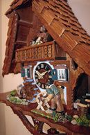 "River City Clocks One Day Musical 17"" German Cuckoo Clock Man Saws Wood - GermanGiftOutlet.com  - 3"