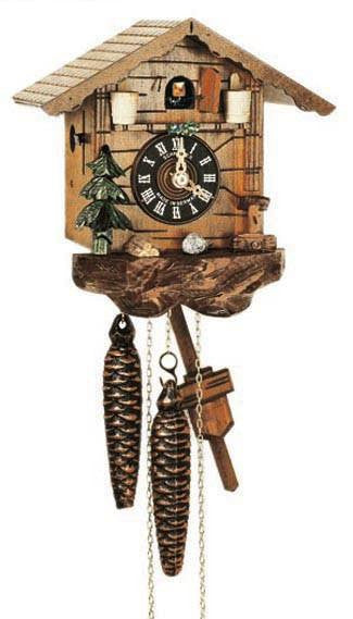 "Schneider Black Forest 7"" German Cuckoo Clock - GermanGiftOutlet.com"