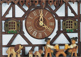 "Schneider Black Forest 16"" Musical Beer Drinkers Eight Day German Cuckoo Clock - GermanGiftOutlet.com  - 2"