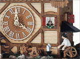 "Schneider 17"" Musical Blacksmith Eight Day Movement German Cuckoo Clock - GermanGiftOutlet.com  - 2"