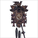 "Schneider Black Forest 12"" Three Birds and Four Leaves Cuckoo Clock - GermanGiftOutlet.com  - 1"