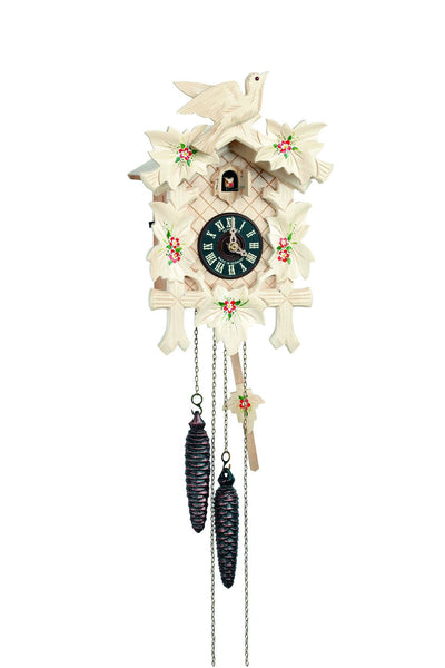 "Schneidaer Natural Black Forest Wood 12"" German Cuckoo Clock - GermanGiftOutlet.com"