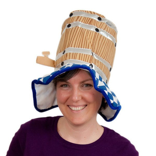 Oktoberfest Costume Hat Beer Barrel - GermanGiftOutlet.com  - 1