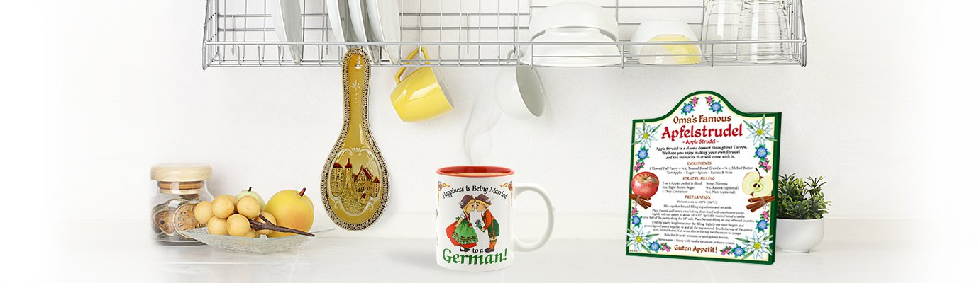 One Stop Gift Shopping for All Things German!