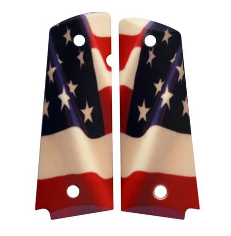 Custom Full Size 1911 Grips American Flag