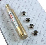 30.06 25.06 270 Win Caliber Red Laser Boresighter Brass Cartridge Bore Sight