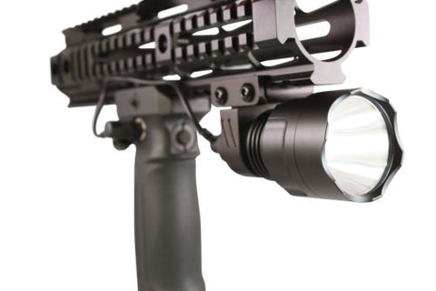 Tactical Vertical Foregrip 200 Lumen CREE LED Weapon Mount Light Flashlight