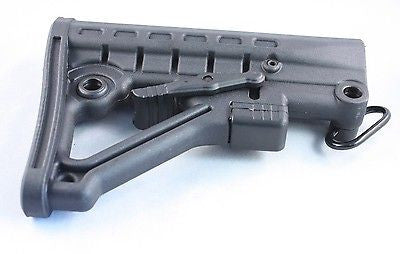 Tactical 6 Position Collapsible Stock BLK