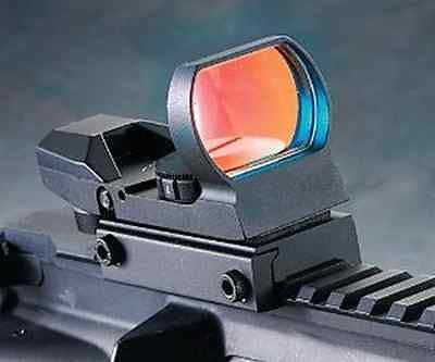 Tactical ZOS 1x22x33 Combat Holographic Red Dot Reflex Sight 4 Reticles