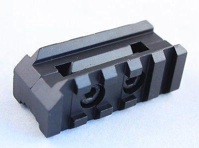 Front Sight Tower Mount Dual Picatinny Weaver Rails .223 5.56 rifles