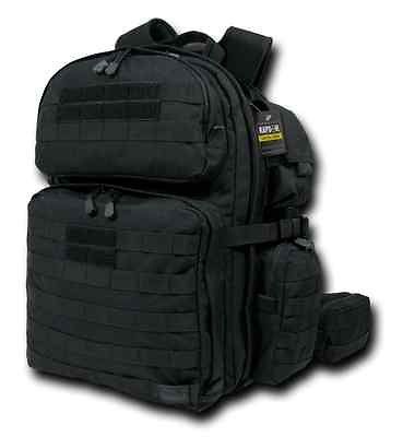 Military Assault Backpack Tactical Rex (T-Rex) Camping Hiking Hunting Pack BLK
