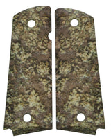 Custom Full Size 1911 Grips Curecanti Camo