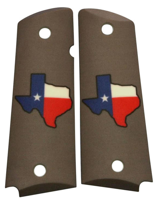 Custom Full Size 1911 Grips Don't Mess With Texas