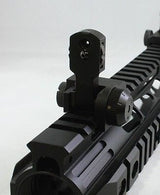 .223 TACTICAL FLIP UP REAR SIGHT QD Attach Dual Apertures