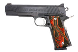 Custom Full Size 1911 Grips Smoke and Fire