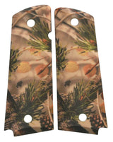 Custom Full Size 1911 Grips Vanish Pine Camo
