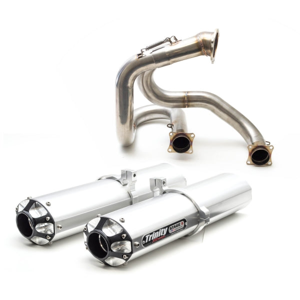 Can Am Maverick XDS Turbo 15-17 Back Exhaust System - Warranty Killer Performance