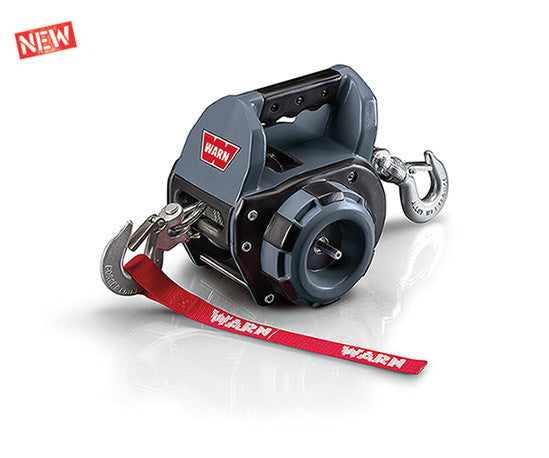 Warn Drill Powered Portable Winch with Wire Rope
