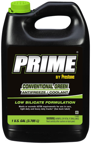 Prestone Prime Green Silicate Antifreeze - 1 Gallon