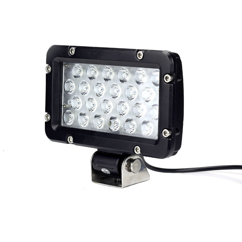 Aftershock Series LED Work Light 7.5inch - 24W - Black - Warranty Killer Performance