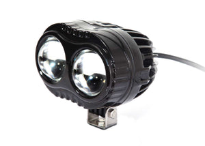 Aftershock Series LED Work Light 4inch - 20W - Spot Beam - Black - Warranty Killer Performance
