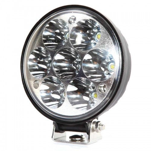 Aftershock Series LED Work Light 4inch - 21W - Spot Beam - Black - Warranty Killer Performance