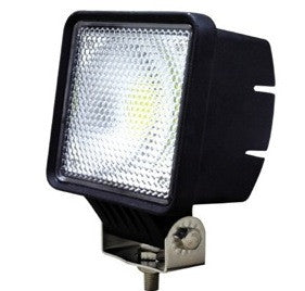 Aftershock Series LED Work Light 5inch - 30W - Flood Beam - Black - Warranty Killer Performance