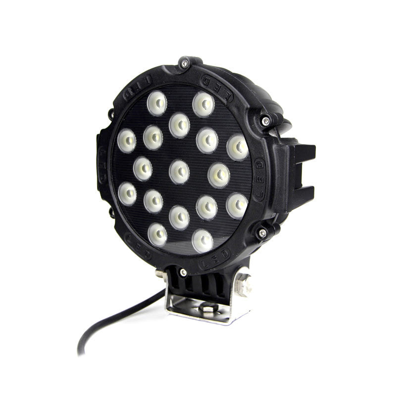 Aftershock Series LED Work Light 7inch - 51W - Warranty Killer Performance