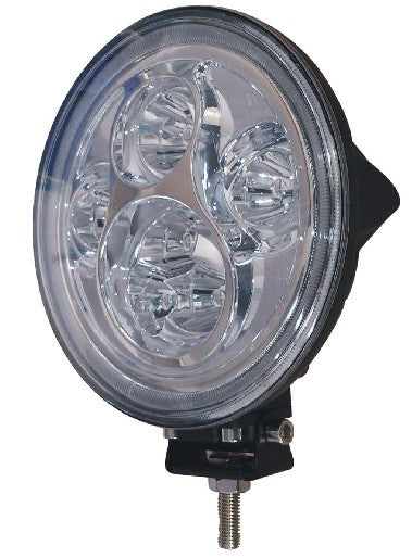 Aftershock Series LED Work Light 7inch - 60W - Combo Beam - Black - Warranty Killer Performance