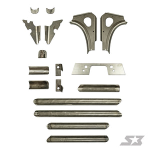 Can Am Maverick X3 Chassis Weld-In Gusset Kit - Warranty Killer Performance