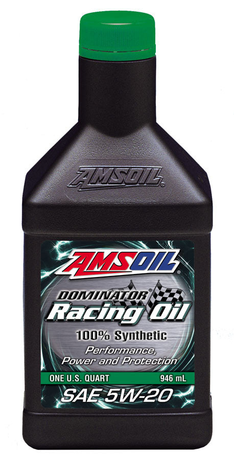 Amsoil DOMINATOR® 5W-20 Synthetic Racing Oil 1 Qt. - Warranty Killer Performance