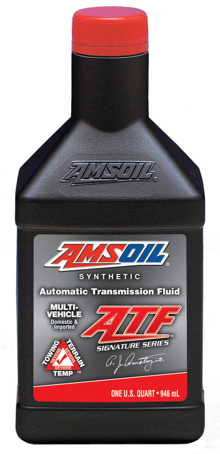 Amsoil Signature Series Multi-Vehicle Synthetic Automatic Transmission Fluid 1 Qt. - Warranty Killer Performance