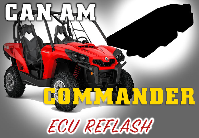 Can Am Commander ECU Reflash