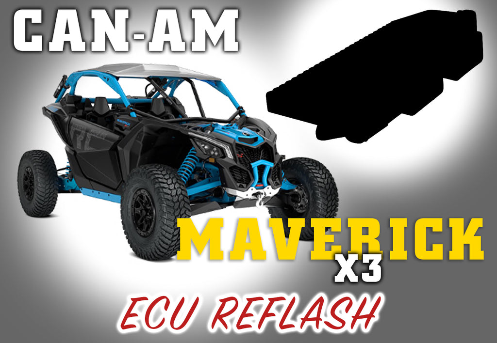2018 Can Am Maverick X3 ECU Reflash - Warranty Killer Performance