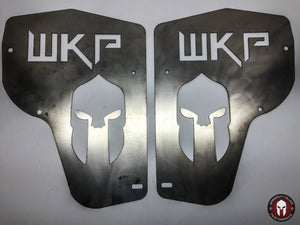 """WKP"" Series Maverick Front Splash Guard Set - Warranty Killer Performance"