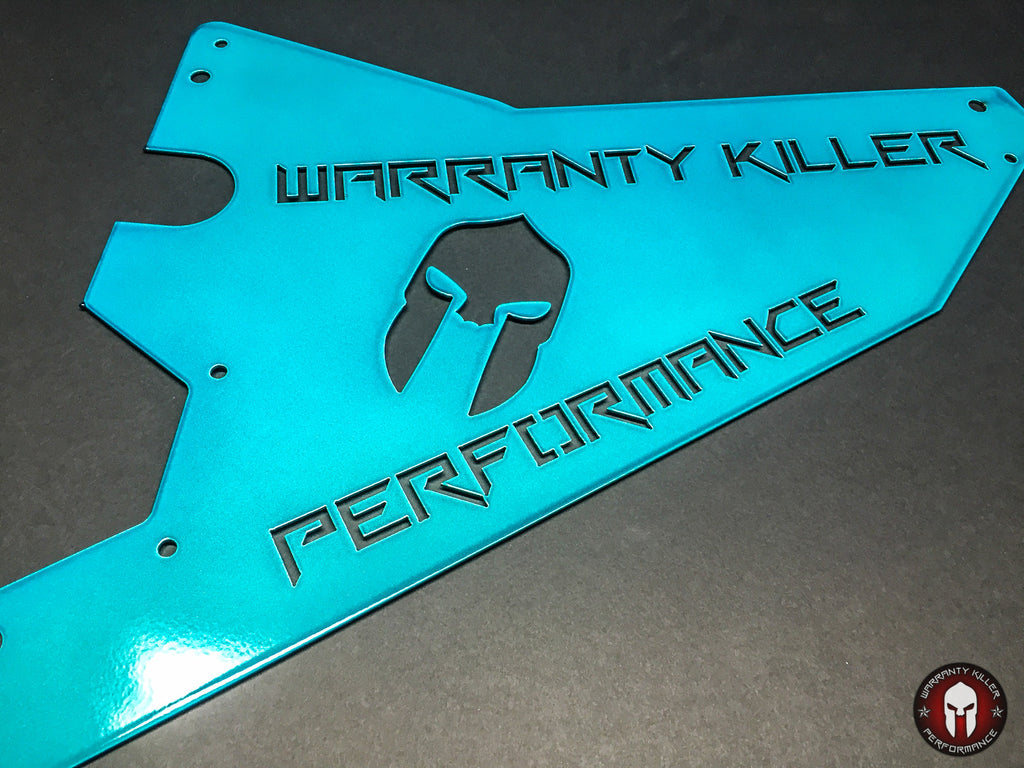 """WKP"" Series Maverick Rear Splash Guard Set - Warranty Killer Performance"