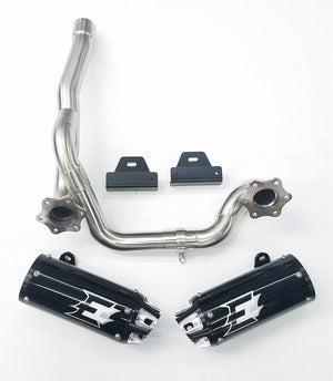 Empire Industries Can Am Outlander GEN 2 Dual Slip On Exhaust