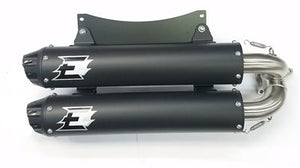 Empire Industries DualSlip On Exhaust for Polaris RS1