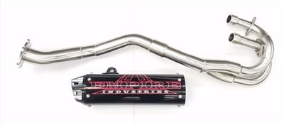 Empire Industries TRX 400 EX Full Exhaust 8-In (Shorty)