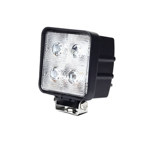 Fracture Series LED Work Light 4inch - 40W - Black - Warranty Killer Performance