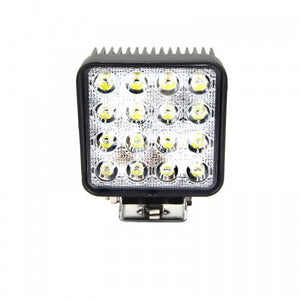Fracture Series LED Work Light 4inch - 48W - Black - Warranty Killer Performance