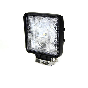 Fracture Series LED Work Light 4inch - 15W - Black - Warranty Killer Performance