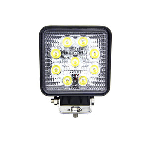 Fracture Series LED Work Light 4inch - 27W - Black - Warranty Killer Performance