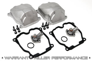 Can Am Aluminum Valve & Thermostat Cover/Gasket Kit