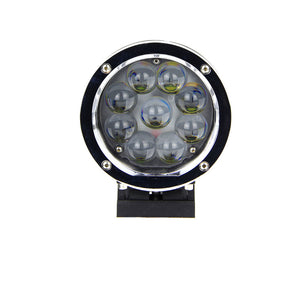 Magnitude Series LED Work Light 5.5inch - 45W - Silver/Black - Warranty Killer Performance