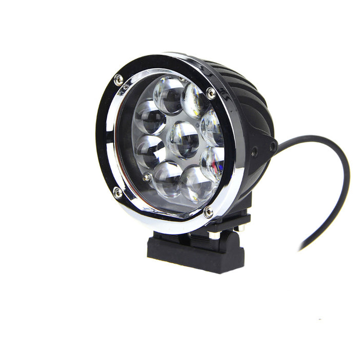 Magnitude Series LED Work Light 5.5inch - 45W - Silver/Black