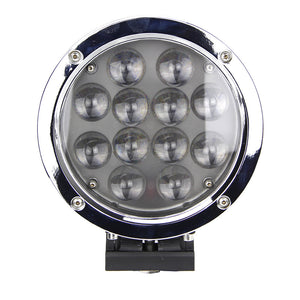 Magnitude Series LED Work Light 6inch - 60W - Silver/Black