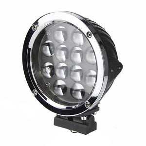 Magnitude Series LED Work Light 6inch - 60W - Silver/Black - Warranty Killer Performance